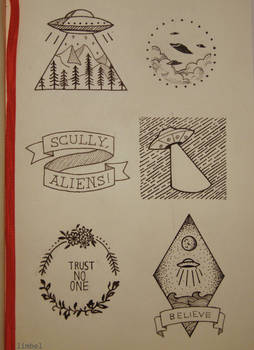 X-Files Inspired Designs