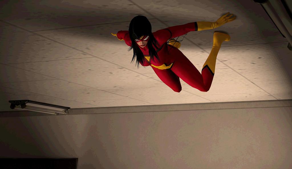 Spider Woman by LoneWolfDenz