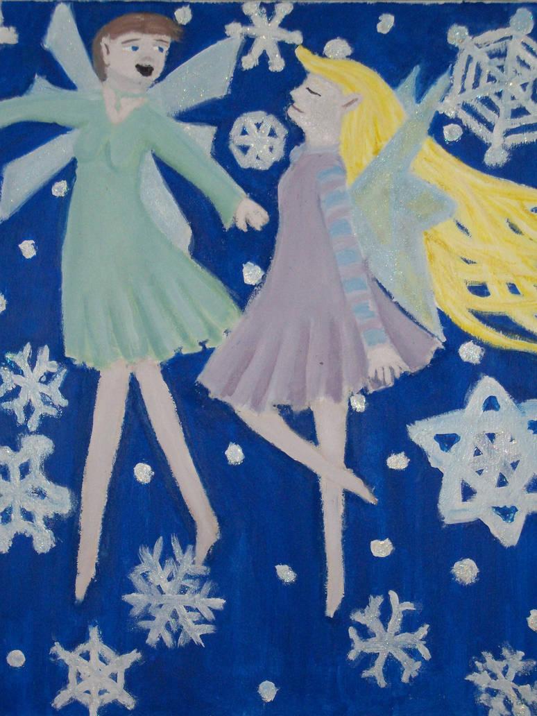 Dancing Snow Fairies
