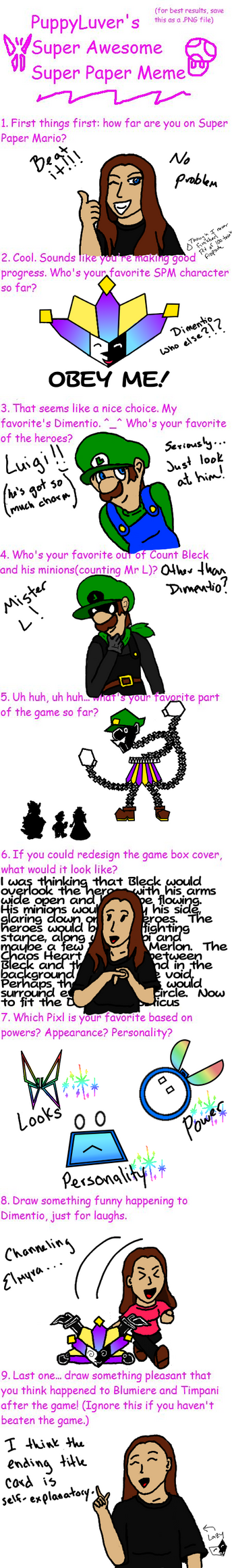 Super Paper Mario meme by starhavenstudios