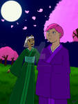 Ashana and Lily: Night of the Cherry Blossoms