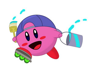Kirby Collaboration: Paint Kirby
