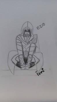Morning sketch #1 - Ezio