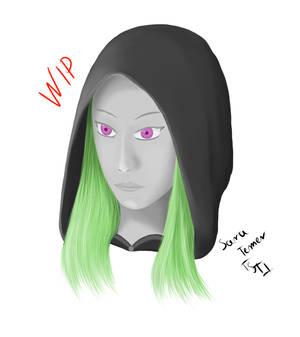 [WIP] Night Elf - Portrait
