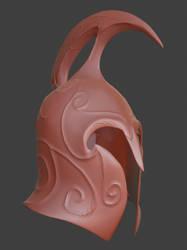Noldor Helmet - high poly