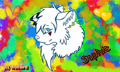 Sophie the wolf