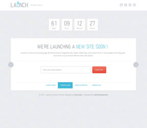 Launch -Minisite HTML Template by sunilbjoshi