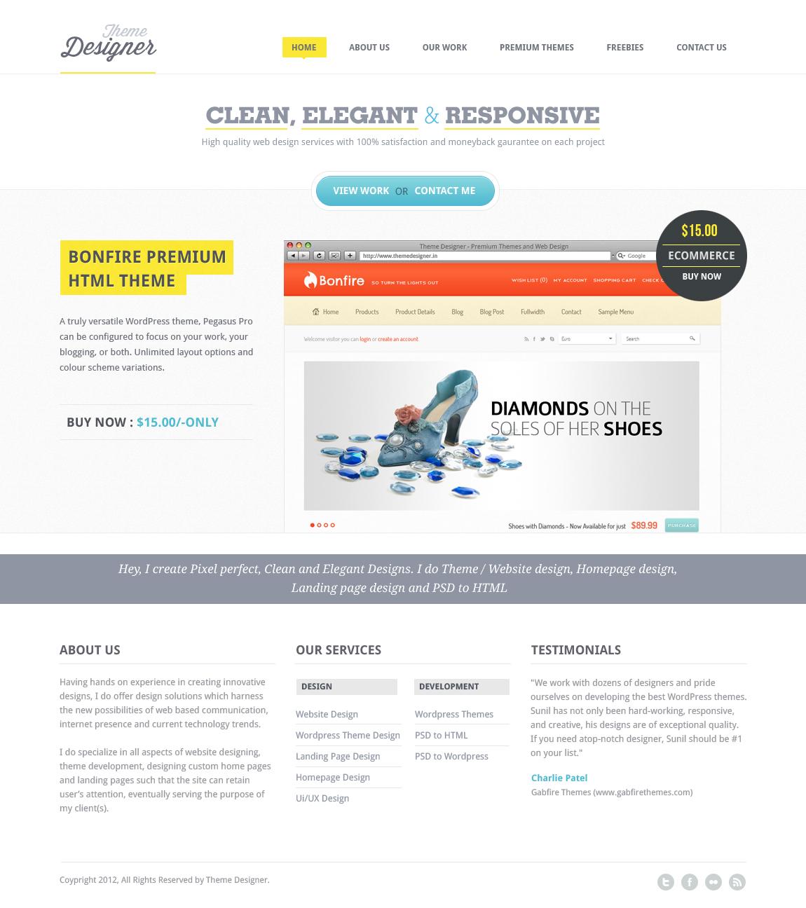 Redesign - Theme Designer by sunilbjoshi