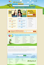 Alles Sparen - Voucher Website design by sunilbjoshi