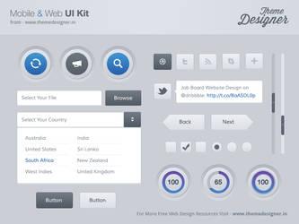 Freebies - Mobile and Web UI Kit