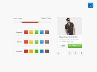 Minimal UI Kit - Free by sunilbjoshi