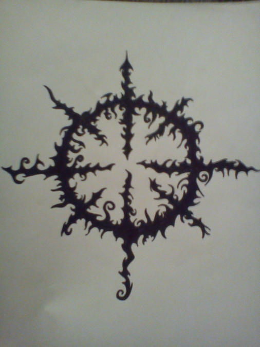 chaos star tattoo by yourblackgod on deviantart. Black Bedroom Furniture Sets. Home Design Ideas