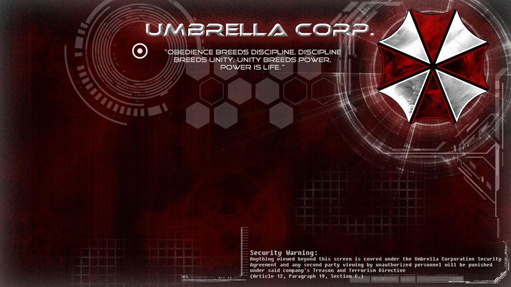 -Umbrella Corp. Wallpaper-