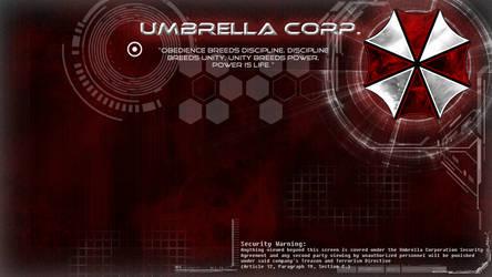 -Umbrella Corp. Wallpaper- by Lady-Elizriel