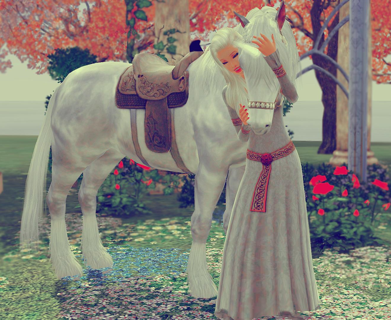 The Last Unicorn by Lady-Elizriel