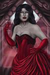 Card #3: Baroness Lucretia Nightshade by Lady-Elizriel