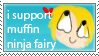 i support stamp by MuffinNinjaFairy