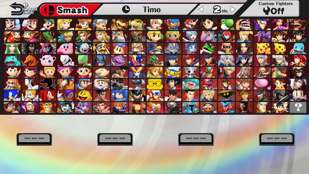 super smash bros 5 wish roster by ssbfangamer on deviantart