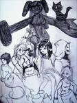 AATR Chara Sketchtastic by Devilslady