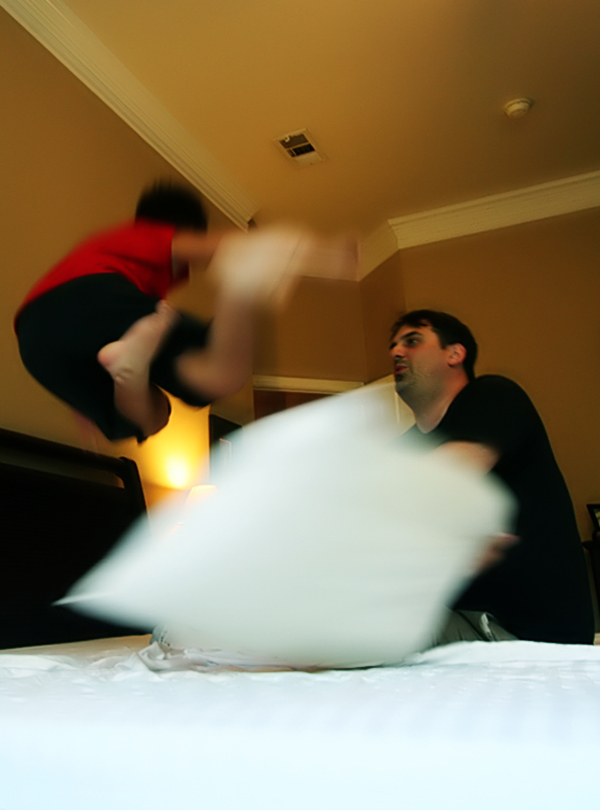 pillow fight by ilovealex