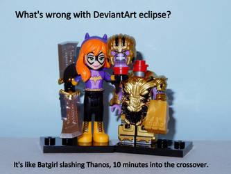 2021-0821-002 Batgirl+Thanos by czoo