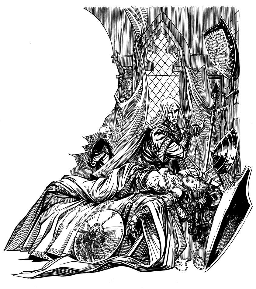 Elric:The Sleeping Sorceress by Steve-Ellis