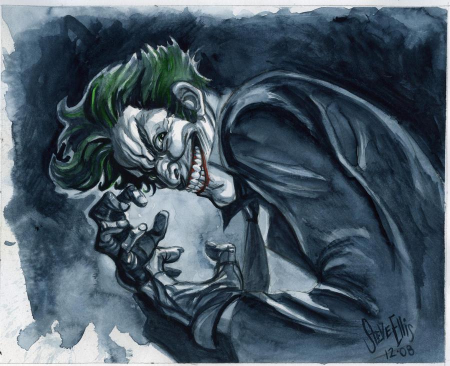 The Joker by Steve-Ellis