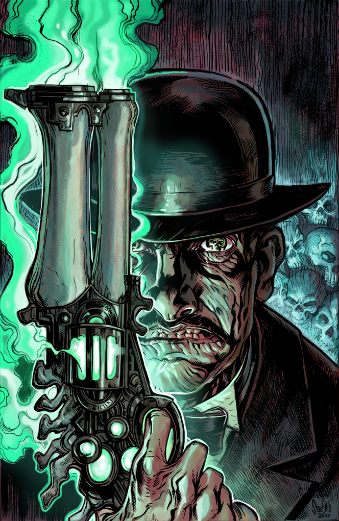 Deadlands Alternate cover by Steve-Ellis