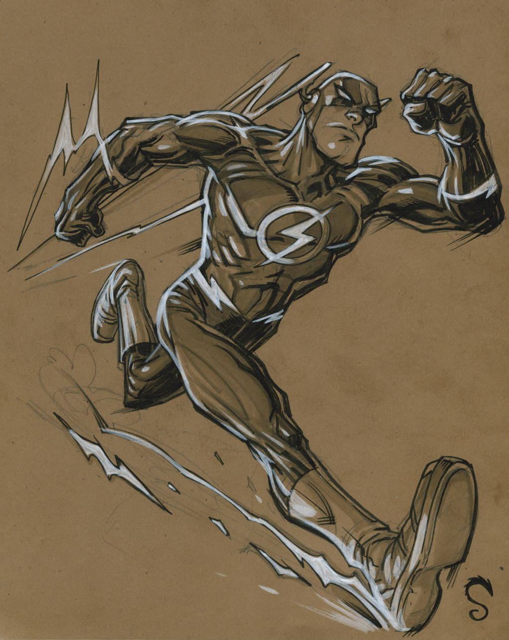 The Flash by Steve-Ellis