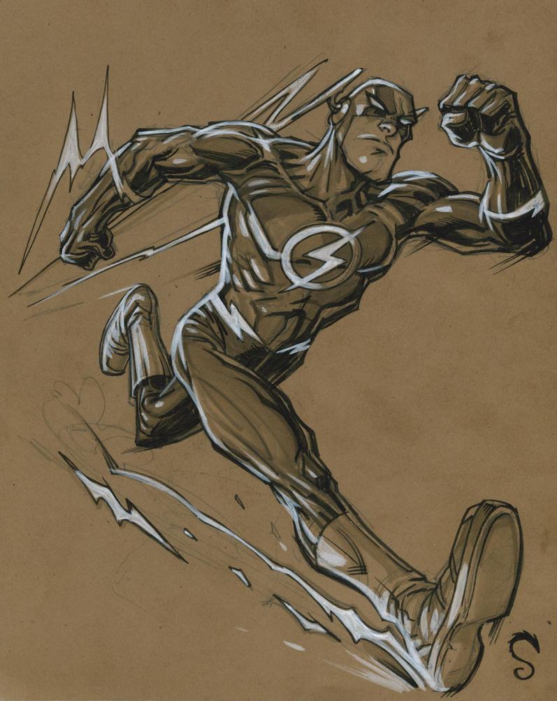 The Flash by Steve-Ellis