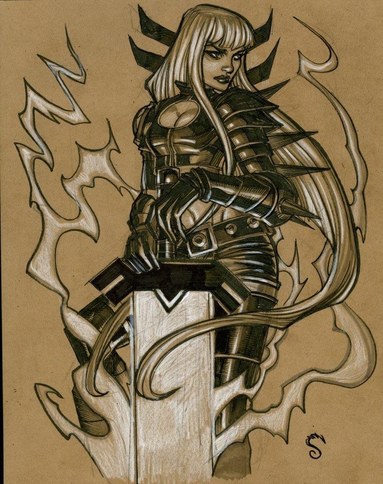Magik from X-men by Steve-Ellis