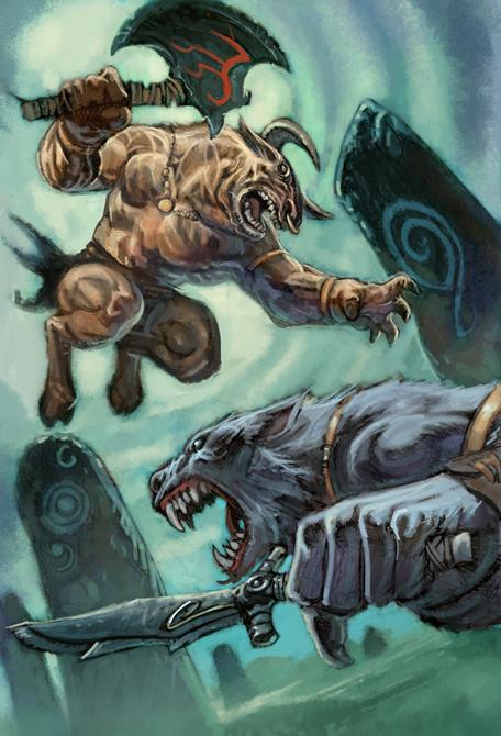 Werewolf vs weretiger - photo#18