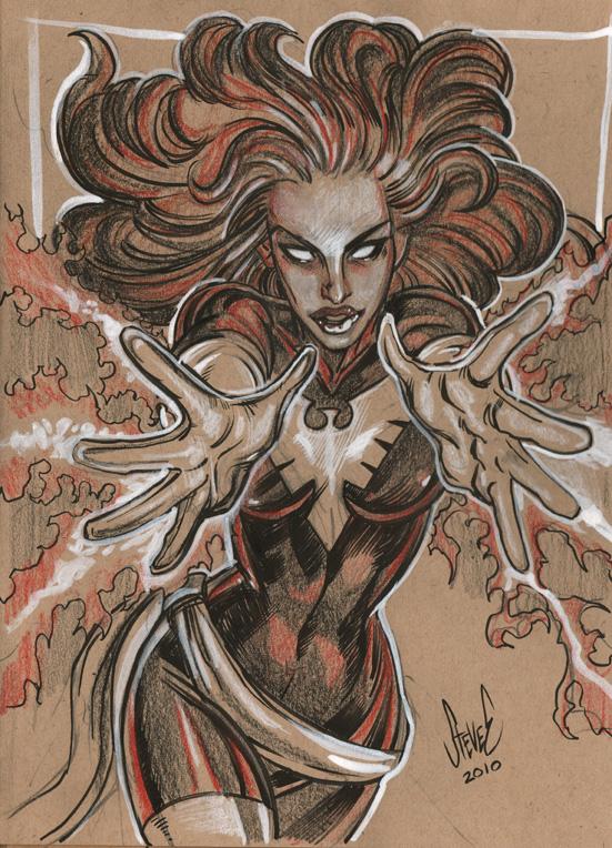 PhoenixSketchweb by Steve-Ellis