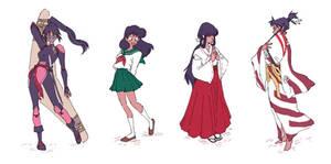 inuyasha girls