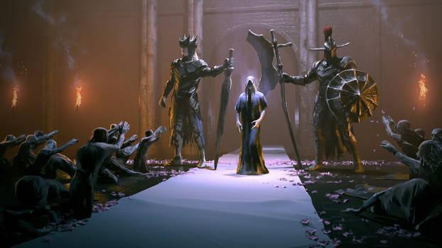 Weekend Fan Art - Dark Souls 3: Lothric's Parade