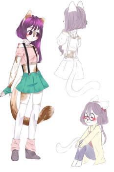 ADOPT (open) Kitty-girl