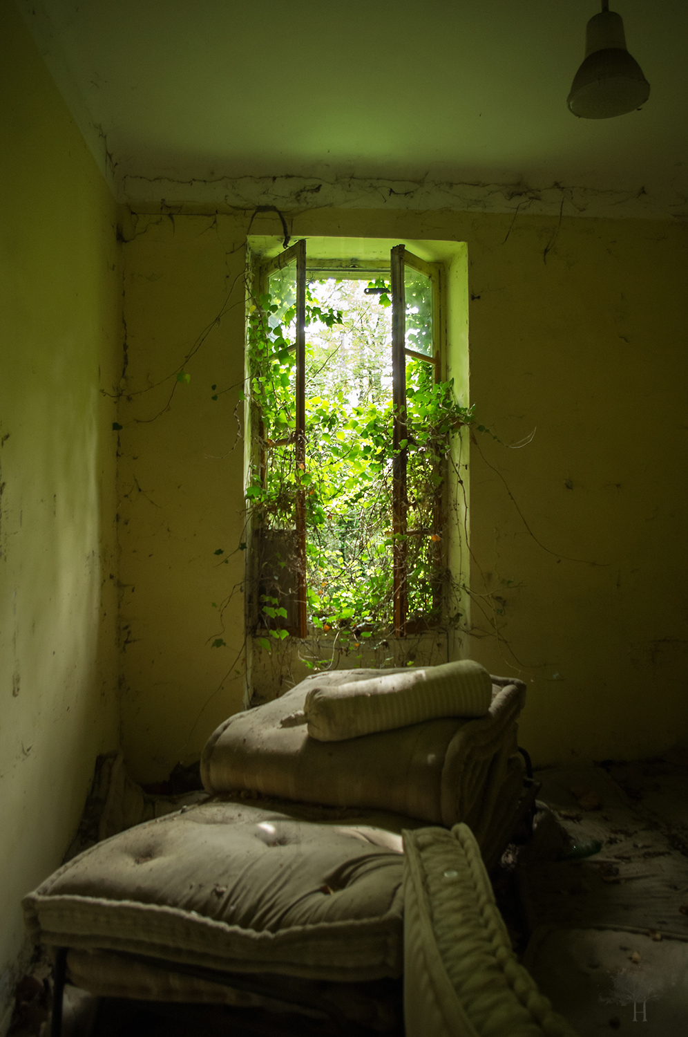 Suspendu la chambre verte by himquare on deviantart for La chambre verte truffaut youtube