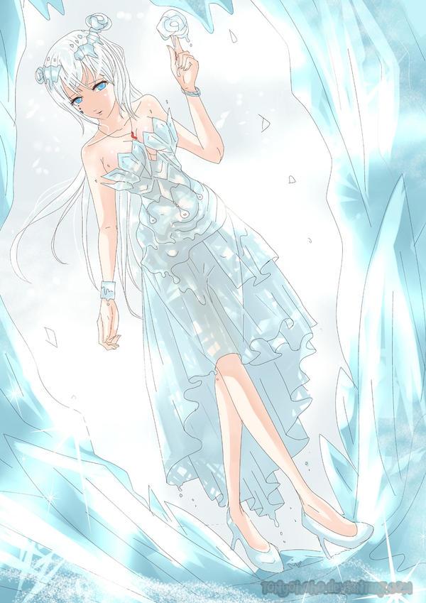 [Contest] Frozen Dress by tonyohoho