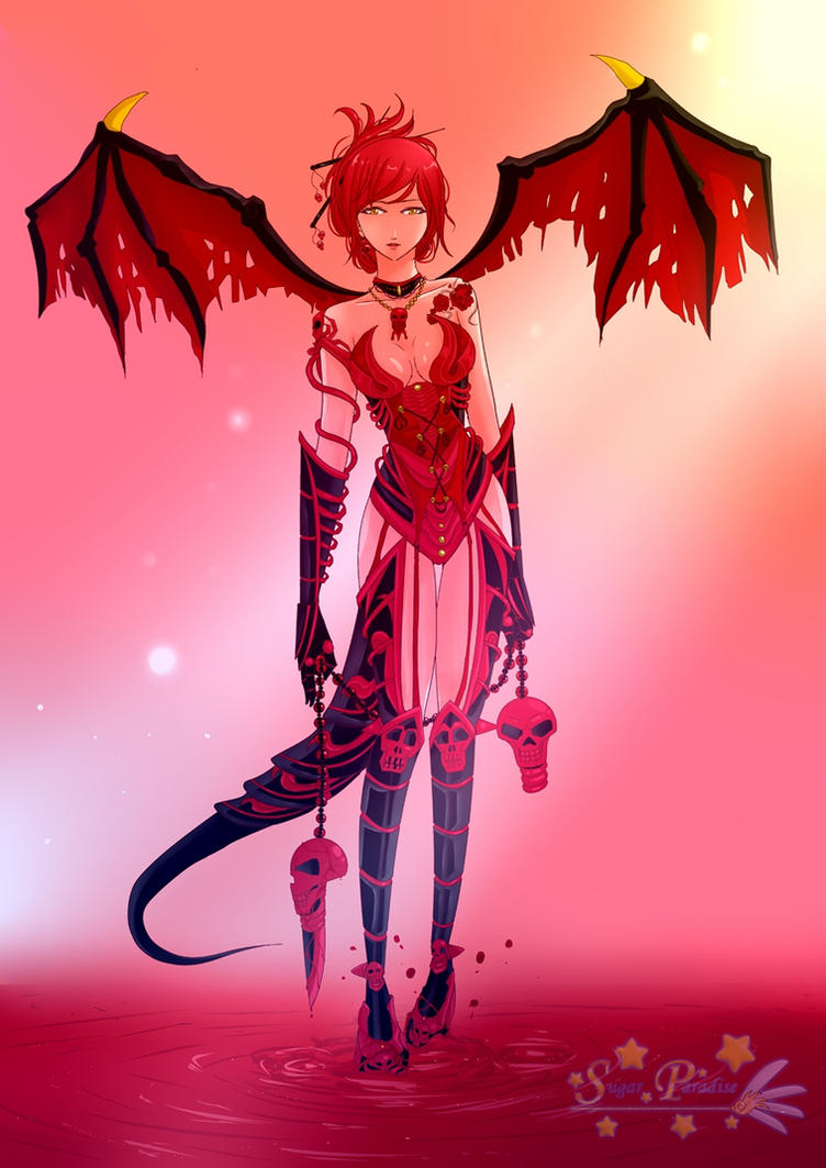 Demoness Aki by tonyohoho