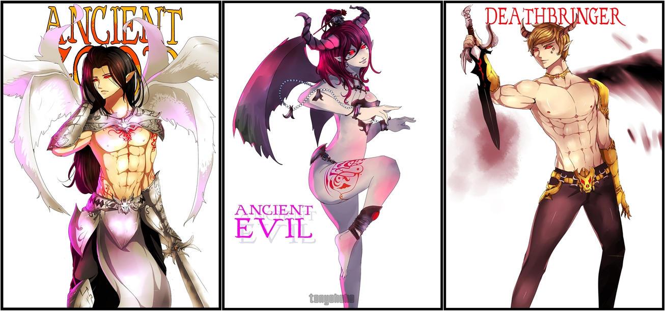 The Ancients by tonyohoho