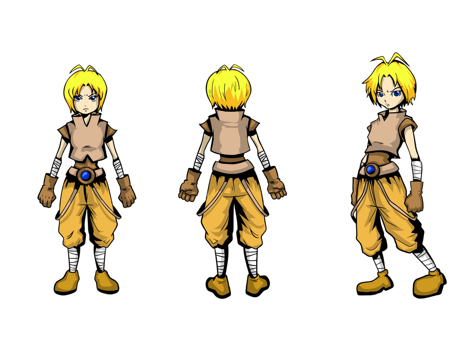 game character design