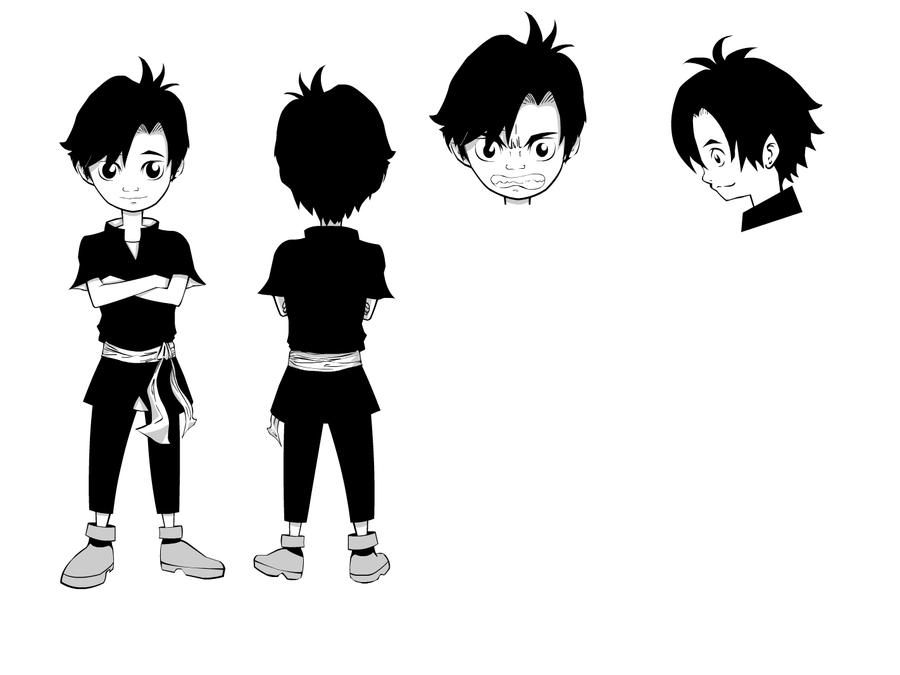 Character Design Little Boy : Character design boy by aminaziman on deviantart