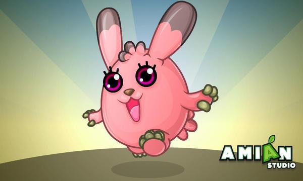 Pink-Bunny by AMINAZIMAN