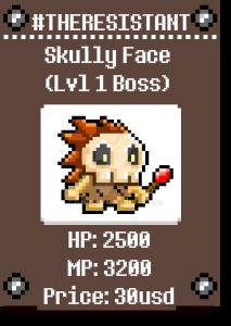 Skully Face by AMINAZIMAN