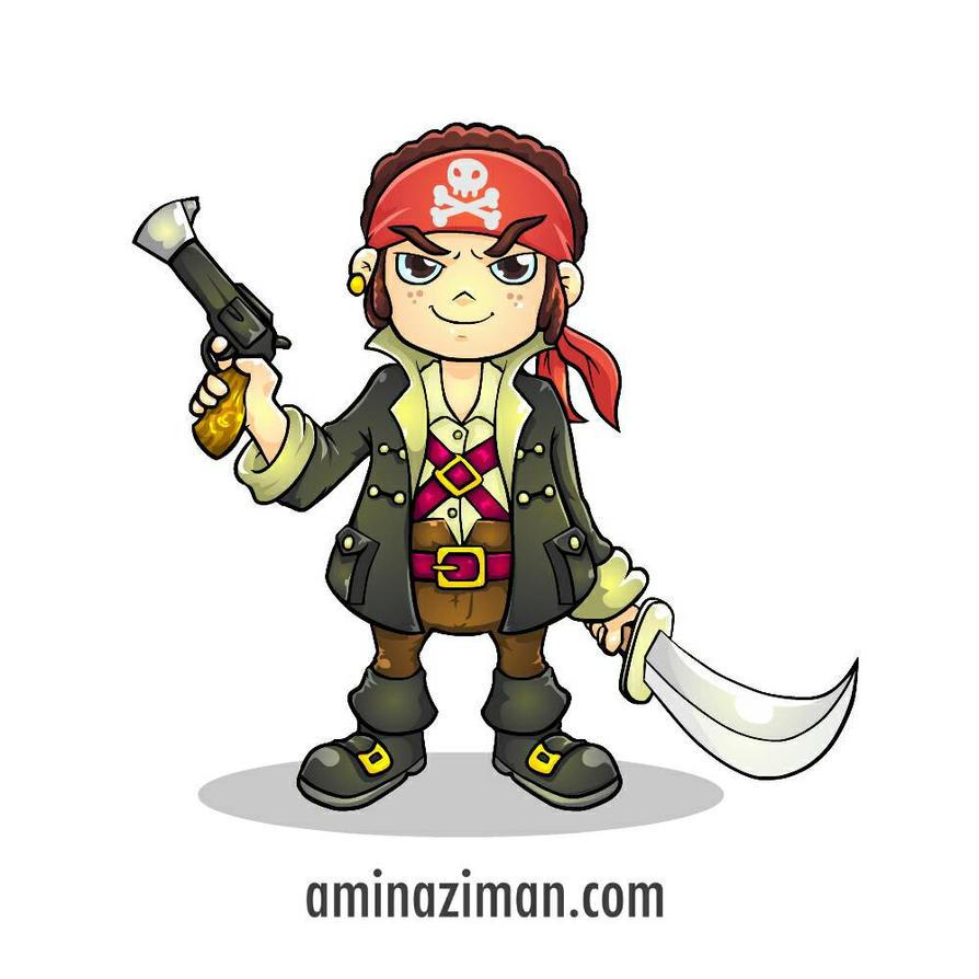 Pirate Boy  by AMINAZIMAN