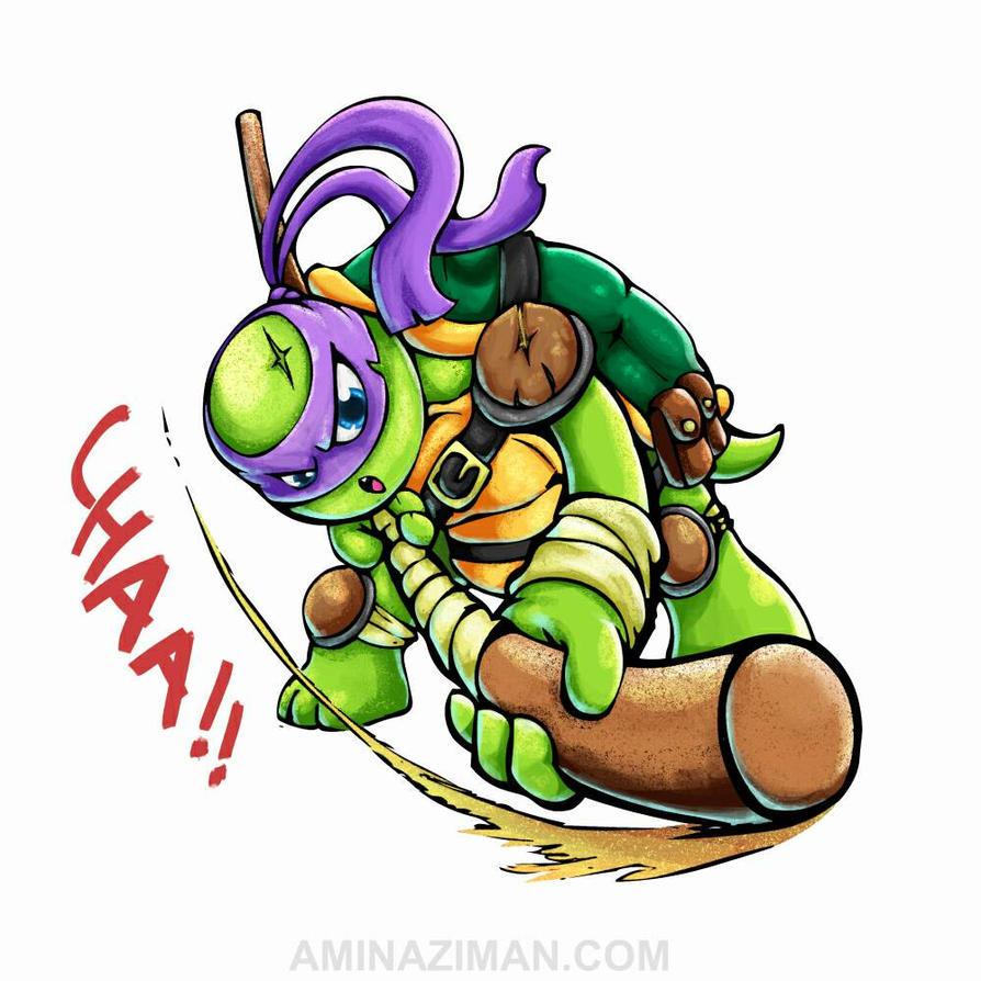 Donatello younger version. by AMINAZIMAN