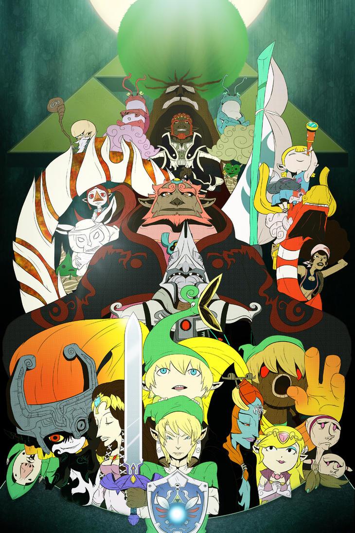 Zeldapocalypse by Cricketto