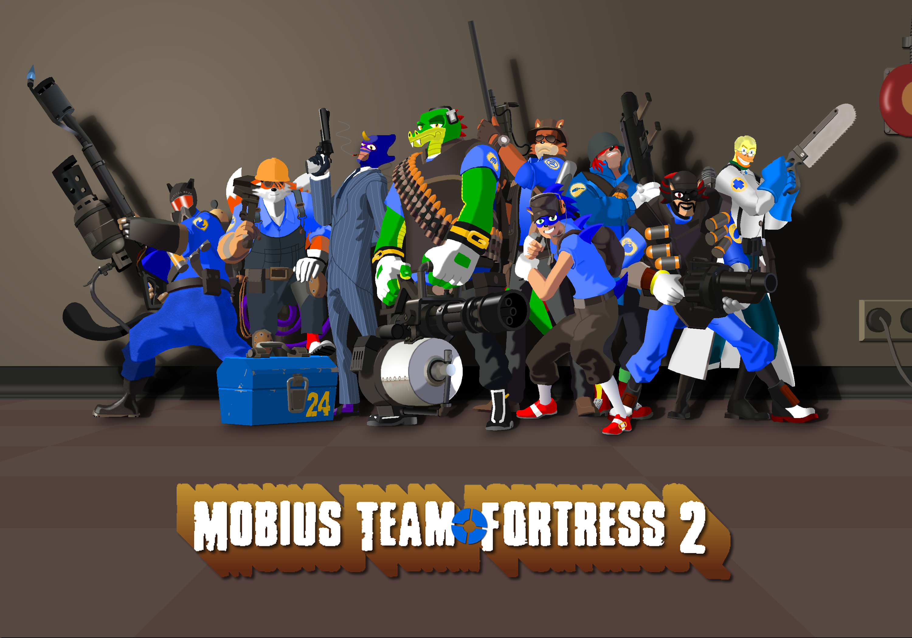 team fortress 2 meet the blu