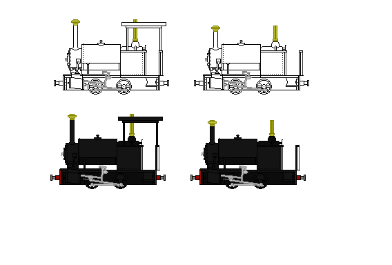 Bagnall 0-4-0 St by Andrewk4