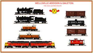 Wellsville, Addison  Galeton railroad by Andrewk4